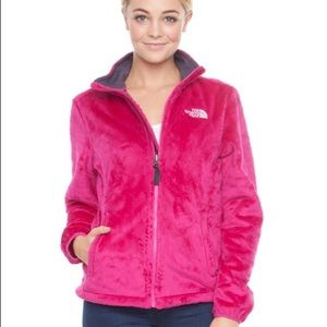 ❄️PINK FUZZY NORTH FACE❄️